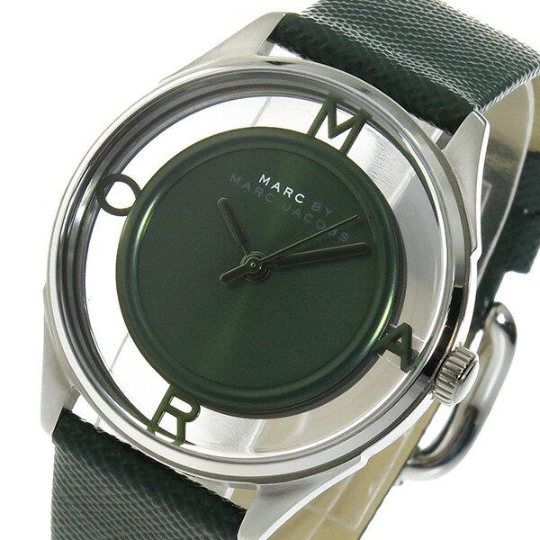 マーク バイ マークジェイコブス クオーツ レディース 腕時計 MBM1378 グリーン【送料無料】【楽ギフ_包装】