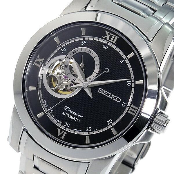 セイコー SEIKO プルミエ Premier 自動巻き メンズ 腕時計 SSA321J1 ブラック【送料無料】【楽ギフ_包装】