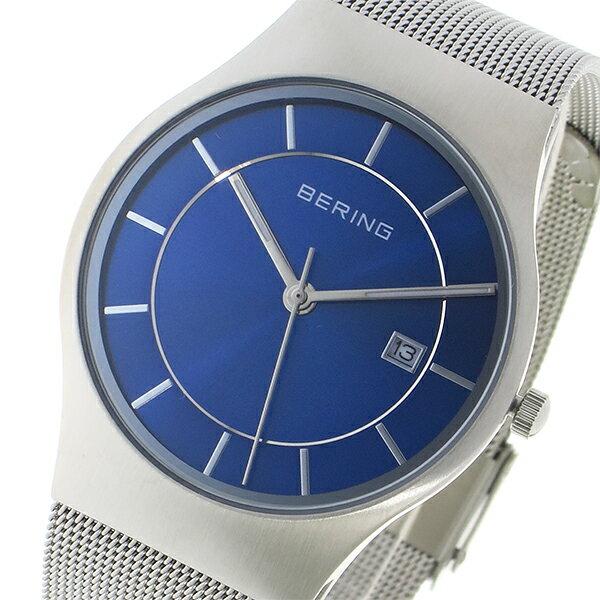 ベーリング BERING クオーツ メンズ 腕時計 11938-003 ブルー【送料無料】【楽ギフ_包装】