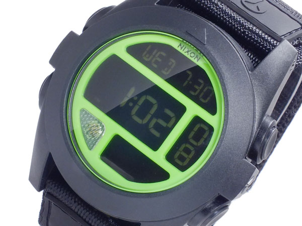 ニクソン NIXON バジャ BAJA デジタル メンズ 腕時計 A489-027 BLACK NEON GREEN ブラック×ネオングリーン【送料無料】【楽ギフ_包装】