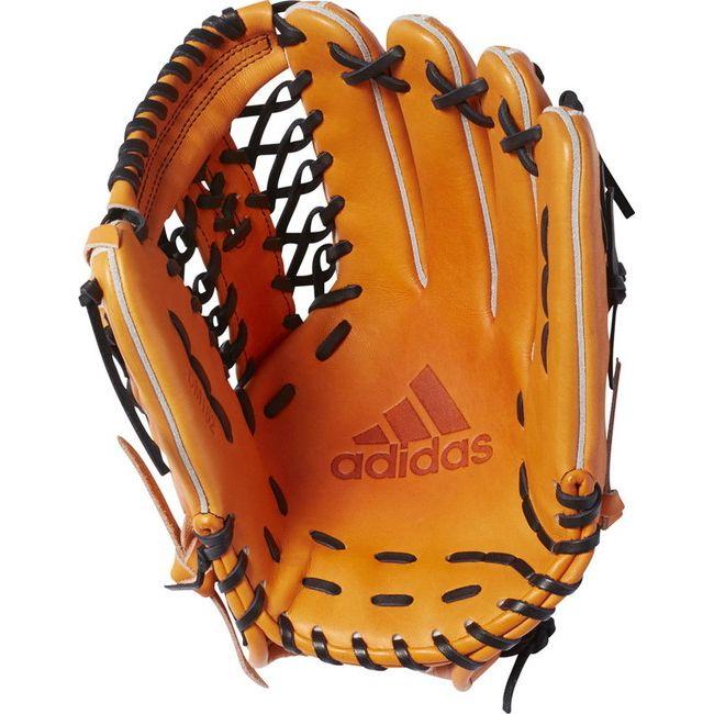 adidas(アディダス) adidas Baseball 硬式グラブ adidas BB 外野手用 DMT62 【カラー】タクティルオレンジ 【サイズ】RH【送料無料】【smtb-f】