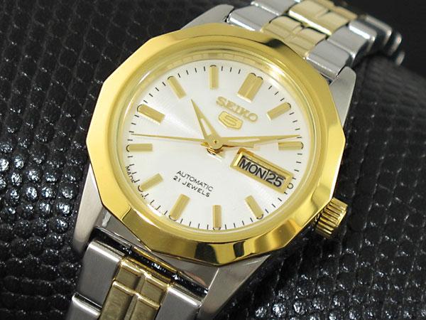 セイコー5 SEIKO ファイブ ドレス 腕時計 自動巻き レディース SYMH64J1【楽ギフ_包装】H2
