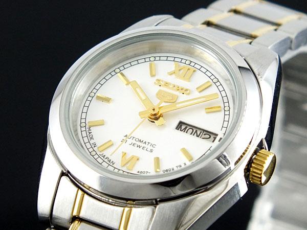 セイコー5 SEIKO ファイブ 腕時計 自動巻き レディース SYMK29J1【楽ギフ_包装】H2【送料無料】
