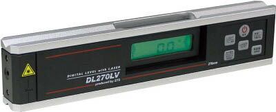 STS レーザ付デジタル傾斜計 DL270LV【DL270LV】(測量用品・勾配計)