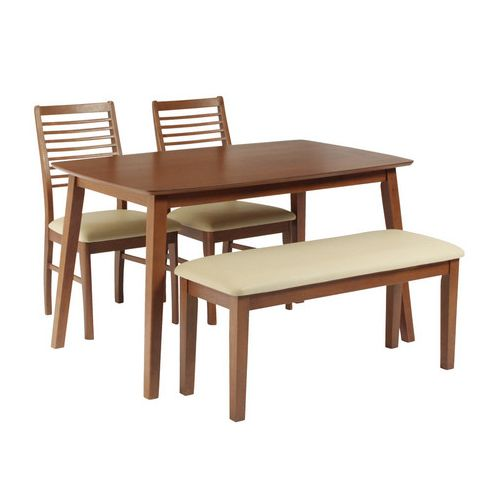 ダイニングテーブル4点セット ダイニングセット 4人掛け ラフィネ ダイニング4点セット (135幅/4人掛け用)(代引不可)【送料無料】【table0901】