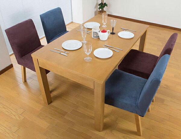 伸長式ダイニングテーブル JF-6120DT 木製 テーブル(代引不可)【送料無料】