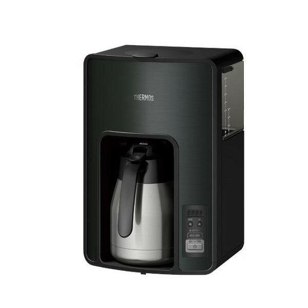 サーモス 真空断熱ポットコーヒーメーカー 1.0L ECH1001-BK【送料無料】