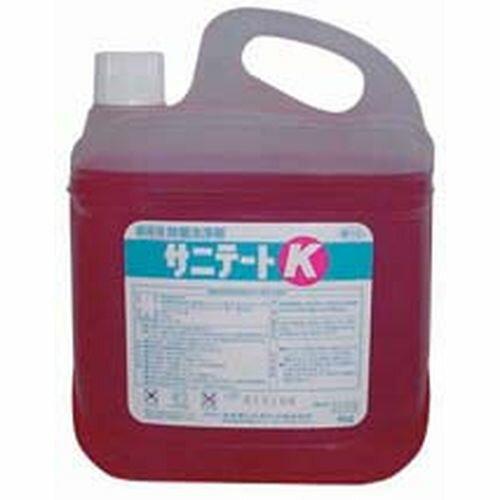 ライオン サニテートK(食品調理器具の除菌洗浄剤) 4Kg JSV6301
