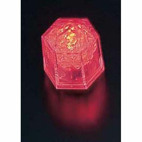 マックスタッフ ライトキューブ・クリスタル 標準輝度 (24個入) レッド PLI4301