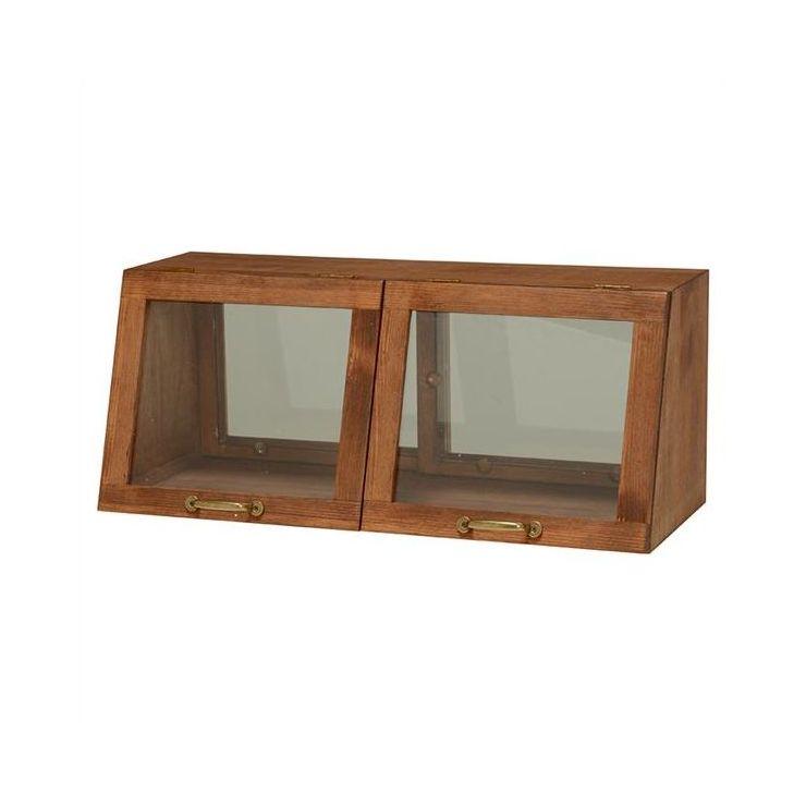 キッチン収納家具 食器ラック 台所収納 キッチン 収納 スパイスラック 収納ラック キッチン 食器棚カウンター MUD-6067DBR(代引不可)【送料無料】