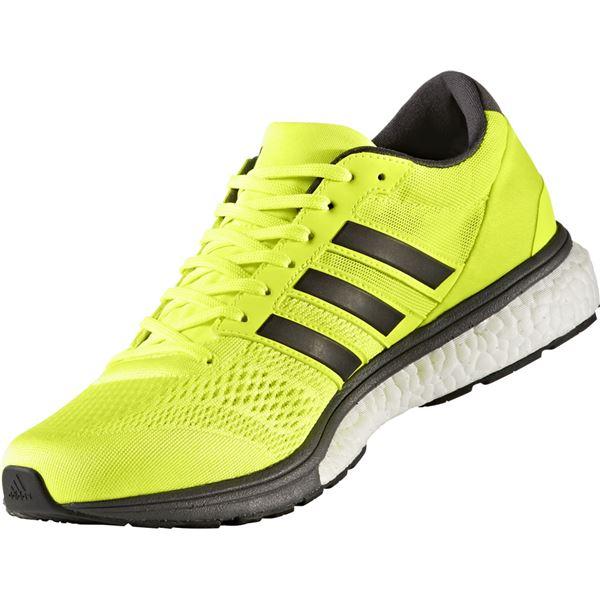 adidas(アディダス) ランニングシューズ BB3320 ソーラーイエロー×ユーティリティブラック×ランニングホワイト 28cm
