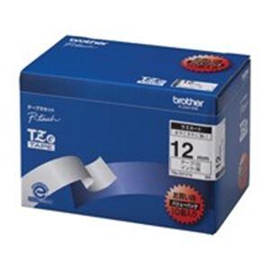 ブラザー工業(BROTHER) 文字テープ TZe-231V10白に黒文字 12mm10個