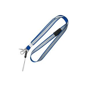 (業務用100セット) ソニック 安全反射ストラップSG-279-B青 ×100セット