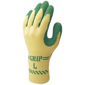 (業務用40セット) ショーワ 手袋グリップソフト 5双 パックグリーン L ×40セット