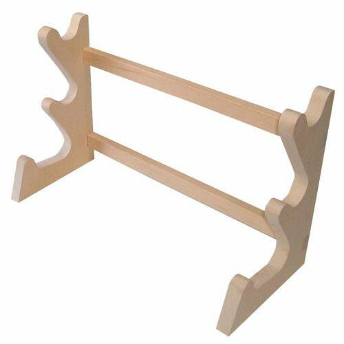 遠藤商事 木製 卓上麺棒掛 3段 AMV2601