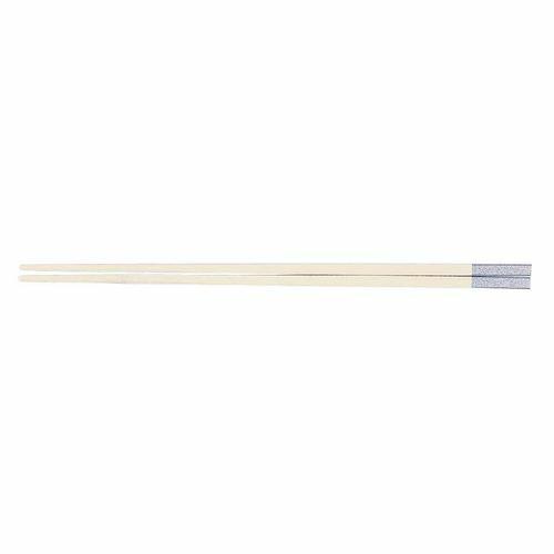 福井クラフト PBT和洋中角箸 シルバー(10膳入) 白 85915550 TTY3601