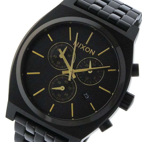 ニクソン NIXON タイムテラー クロノ TIME TELLER クオーツ ユニセックス 腕時計 A972-1031 ブラック【送料無料】