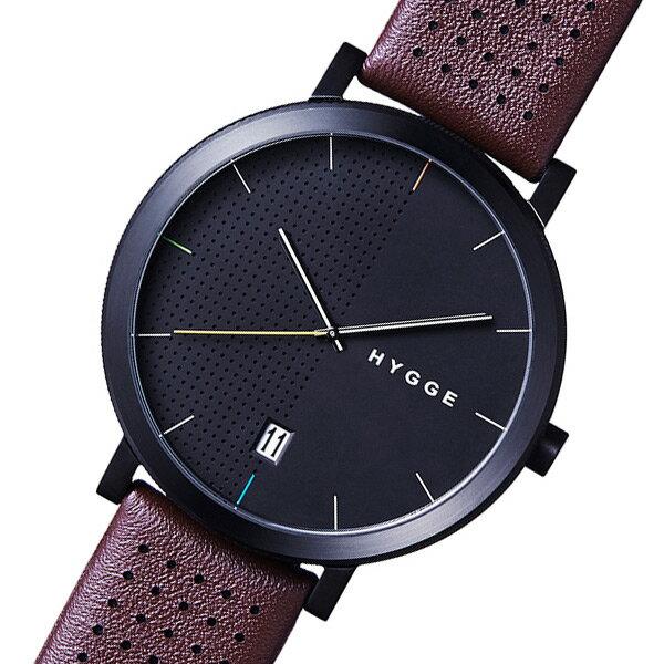 ピーオーエス POS ヒュッゲ 2203 クオーツ メンズ 腕時計 時計 MSL2203BC(BO) ブラウン【楽ギフ_包装】