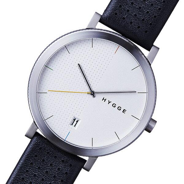 ピーオーエス POS ヒュッゲ 2203 クオーツ メンズ 腕時計 時計 MSL2203C(BK) ブラック【楽ギフ_包装】