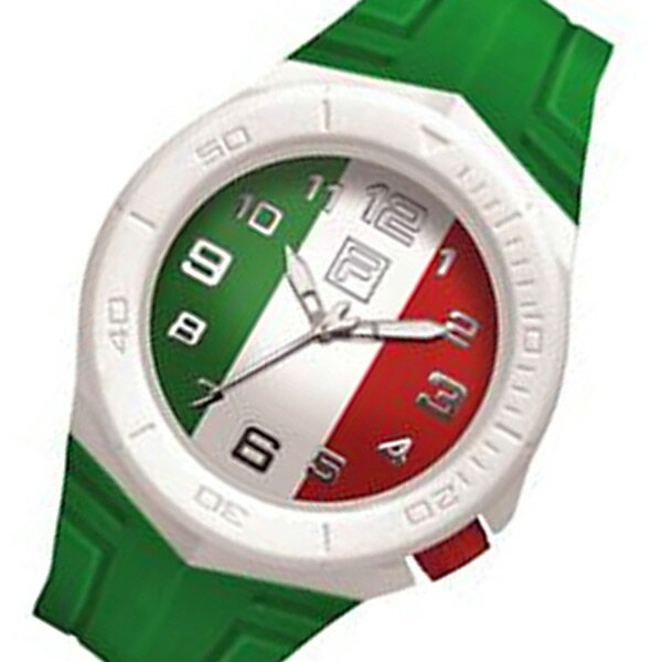 フィラ FILA クオーツ メンズ 腕時計 時計 FCA018-006 グリーン【楽ギフ_包装】