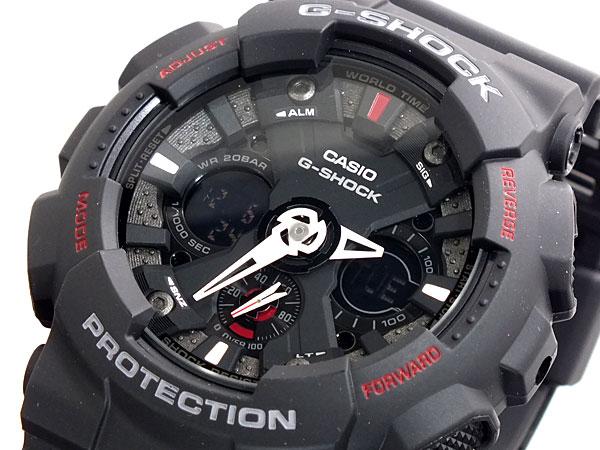 カシオ CASIO Gショック G-SHOCK デジアナ 腕時計 時計 GA120-1A【楽ギフ_包装】