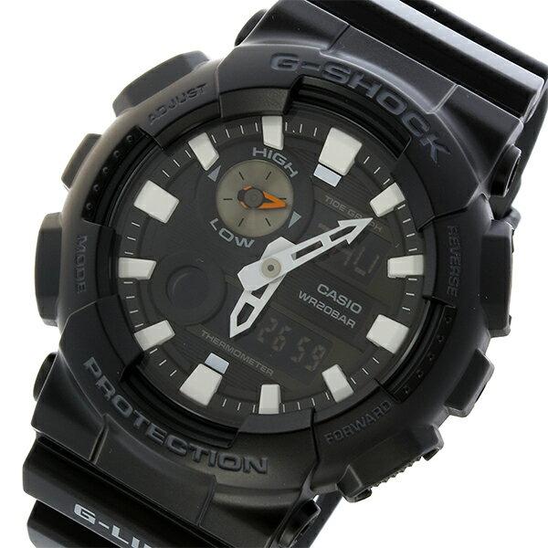 カシオ CASIO Gショック G-SHOCK Gライド G-LIDE クオーツ メンズ 腕時計 時計 GAX-100B-1A ブラック【楽ギフ_包装】