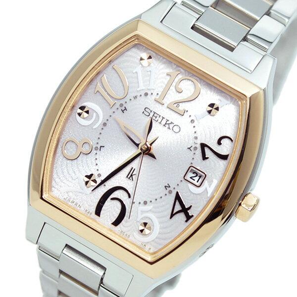 セイコー SEIKO ルキア ソーラー 電波時計 レディース 腕時計 SSVW048 国内正規【送料無料】【楽ギフ_包装】