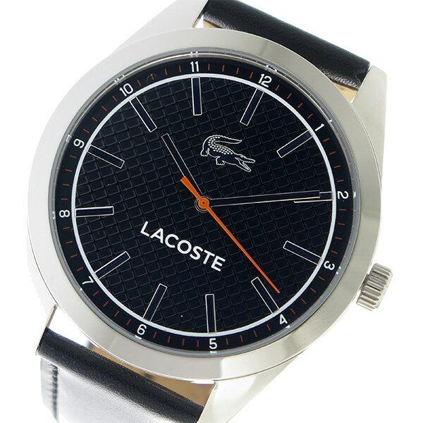 ラコステ LACOSTE クオーツ メンズ 腕時計 時計 2010888 ブラック【楽ギフ_包装】