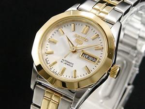 セイコー5 SEIKO ファイブ ドレス 腕時計 自動巻き レディース SYMH64J1【楽ギフ_包装】【RCP】