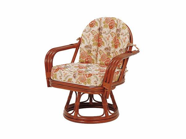ラタンチェア RATTAN CHAIR 回転座椅子 RZ-933 【代引不可】【送料無料】