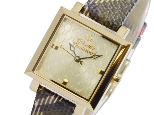 ヴィヴィアン ウエストウッド VIVIENNE WESTWOOD クオーツ レディース 腕時計 時計 VV087GDBR【楽ギフ_包装】【送料無料】