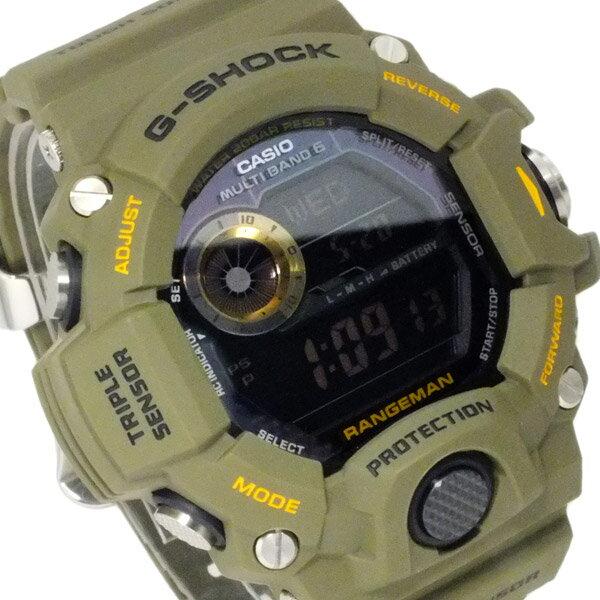 カシオ CASIO Gショック レンジマン 電波 ソーラー メンズ 腕時計 時計 GW-9400-3【楽ギフ_包装】