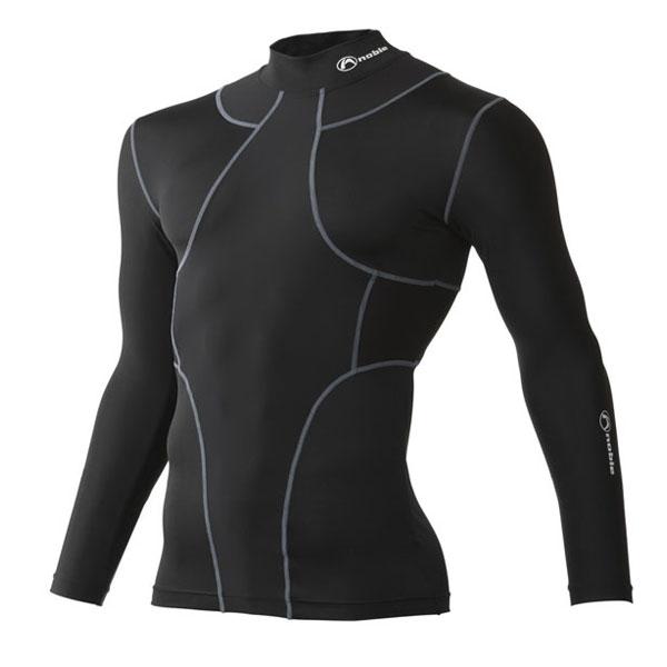 皮膚感覚 TX2 オールインワン ロングスリーブシャツ [男女兼用] #400405 (日本製) ブラック(Lサイズ)/12点入り(代引き不可)