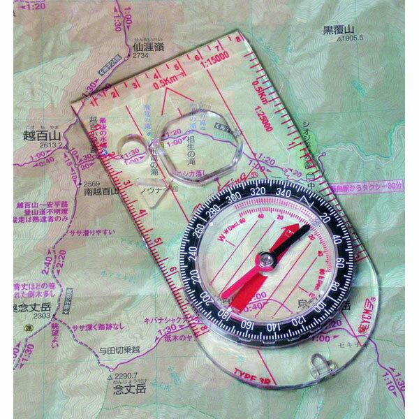 【MIZAR-TEC】ミザールテック オイル式地図用コンパス スケール付 クリア 日本製 G-23 /20点入り(代引き不可)