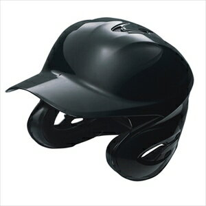 SSK 野球 硬式 用両耳付きヘルメット ブラック(90) Mサイズ H8000