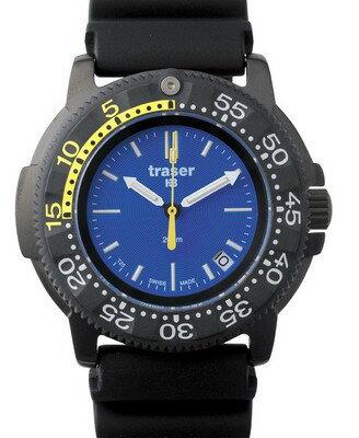限定独占販売 腕時計 Traser トレーサー ミリタリーウォッチ 「NAUTIC RUBBER」P6504.93C.6E.03 【送料無料】(代引き不可)