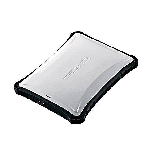 エレコム ELECOM Portable Drive USB3.0 1TB White ZEROSHOCK ELP-ZS010UWH(代引不可)