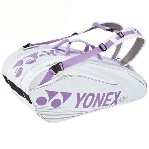 Yonex(ヨネックス) ラケットバック9 リュック付き(ラケット9本用) BAG1602N 【カラー】スノーホワイト【送料無料】【smtb-f】