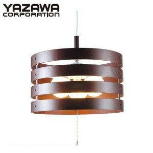 【こだわりの商品】 YAZAWA(ヤザワコーポレーション) ペンダントライト3灯E26電球なし ダークブラウン Y07PDX100X07DW