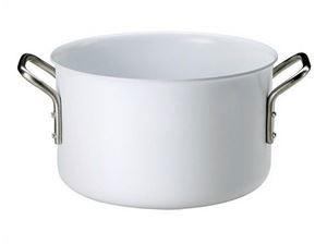 《20cm》【eva-trio】ホワイトライン 両手鍋