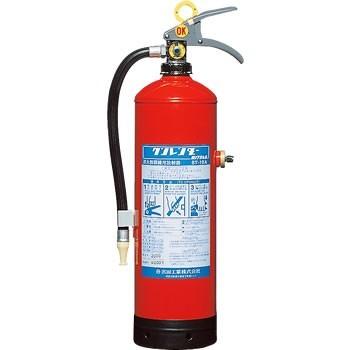 訓練用消火器 水と圧力(空気)を注入で繰り返し使用 「クンレンダー」<防災・防犯・キッチン> ST10A