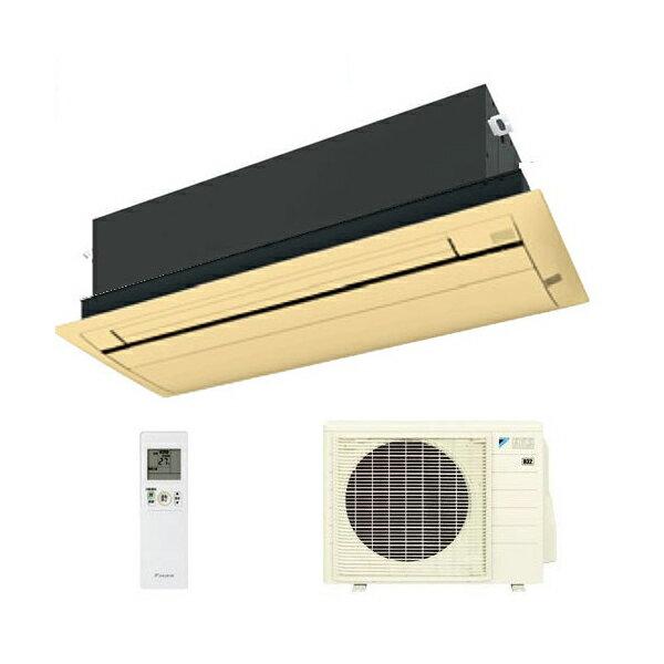 ダイキン ハウジングエアコン 天井カセット形シングルフロー 16畳程度 S50RCV ブラウンパネル BC40JF-T 【業務用】(代引不可)【送料無料】