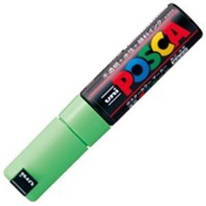 (業務用200セット) 三菱鉛筆 ポスカ PC-8K.5 太字 黄緑 ×200セット