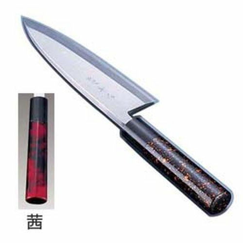 インテックカネキ 歌舞伎調和包丁 忠舟 出刃 15cm 茜 ATD0203