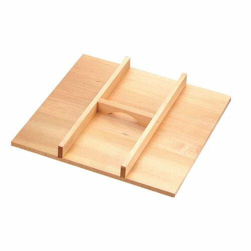 遠藤商事 木製 角セイロ用 手付蓋(サワラ材) 45cm用 WSI05045
