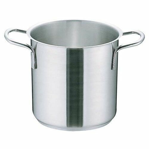 ムラノ インダクション18-8寸胴鍋 (蓋無)28cm AZV7704