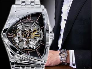 COGU コグ 腕時計 時計 自動巻き フルスケルトン BS0TM-BRG【楽ギフ_包装】
