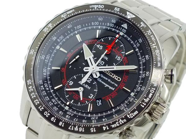 セイコー SEIKO スポーチュラ クロノグラフ 腕時計 SNAE99P1【楽ギフ_包装】【送料無料】