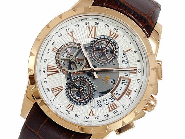 サルバトーレマーラ SALVATORE MARRA クオーツ メンズ 腕時計 時計 SM13119S-PGWH【楽ギフ_包装】【S1】