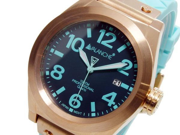 アバランチ AVALANCHE クオーツ ユニセックス 腕時計 時計 AV1028-GRRG【楽ギフ_包装】【S1】